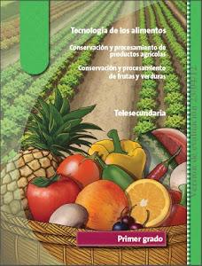 TEC. CONSERVACIÓN Y PROCESAMIENTO DE FRUTAS Y VERDURAS